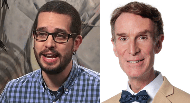 Colin Moriarty vs Bill Nye