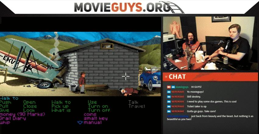 Indiana Jones Graphical Adventure Screenshot