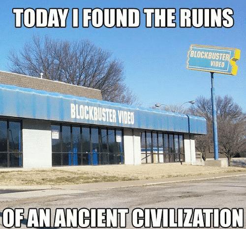 Blockbuster Ruins