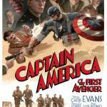 Captain America Throwback Style Poster