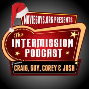 Intermission Podcast Christmas Logo