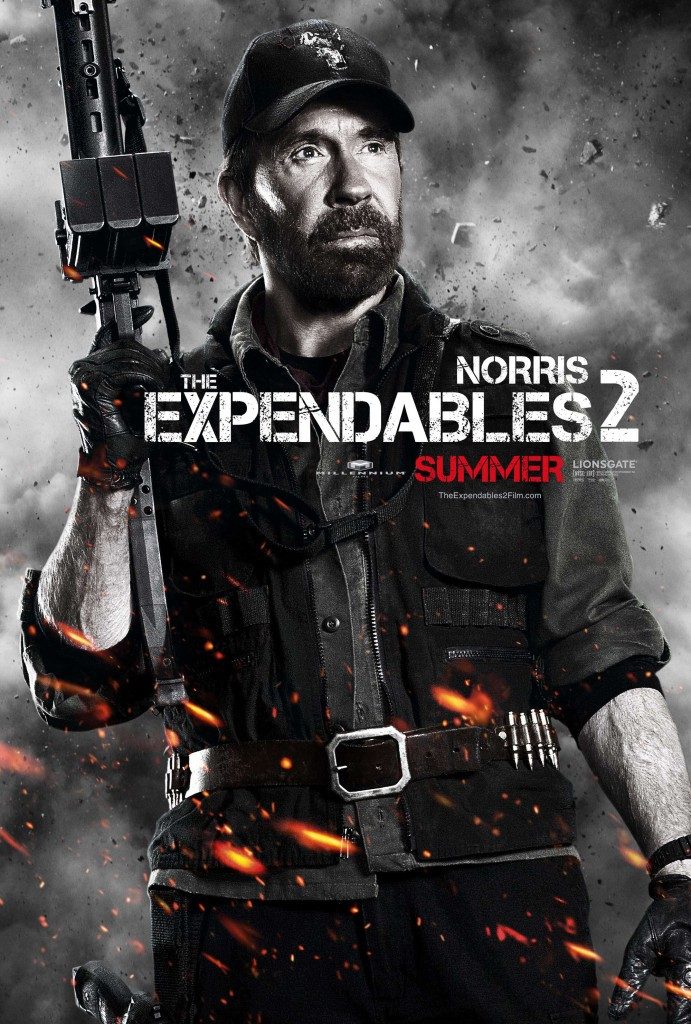 Chuck Norris - Expendables 2
