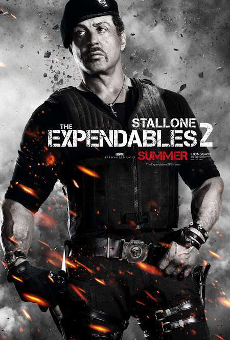Sylvester Stallone - Expendables 2