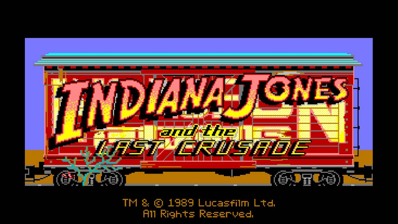 Indiana Jones MS-DOS