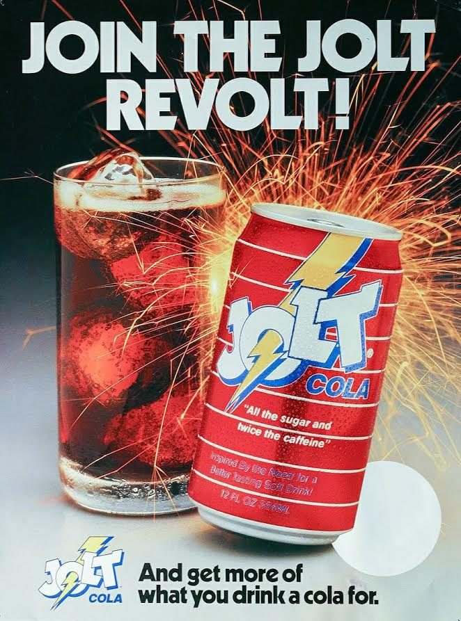 Discontinued Jolt Cola