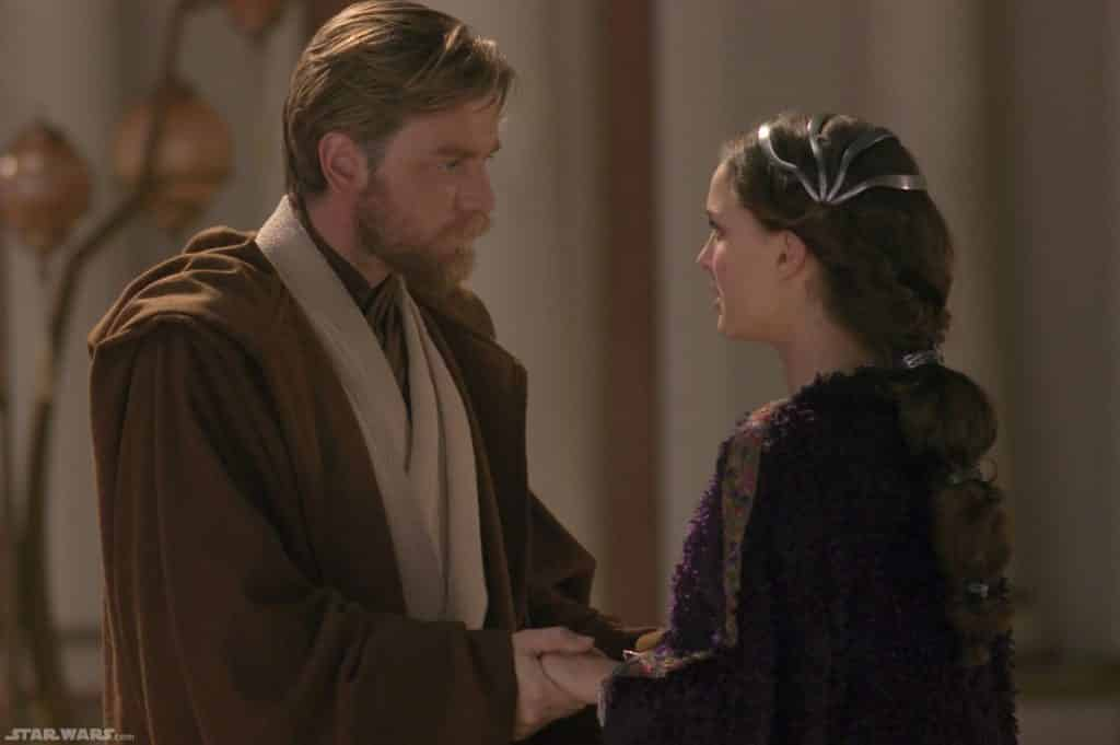 Image result for obi wan and padme""