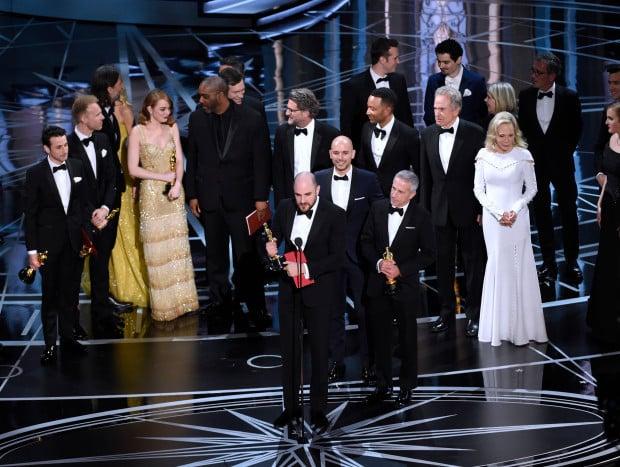 Oscars 2017 Mishap