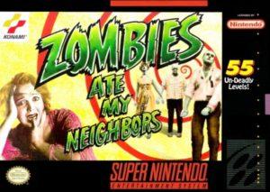 Zombies Ate My Neighbors SNES